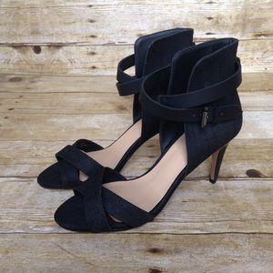 NWOT Joe's Jeans Marcy Black Denim Heels